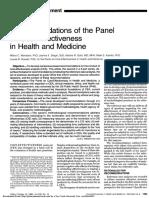 Costo efectividad en salud y medicina