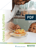 Health Professional Cheese Nutrition Brochure Final