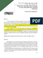 Novelo (2005). Herencias Culturales Desconocidas, El Caso Del Patrimonio Industrial Mexicano.