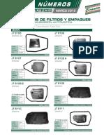 Boletin Filtros Automotrices (Transmision) Marzo 2012