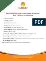Apostila Supremo Forma 13 Movimentos