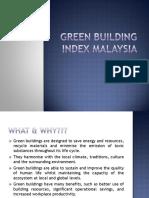 Green Building Index (Gbi)
