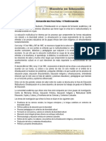 Línea en Educación Multicultural y Etnoeducación (Enlace Web)
