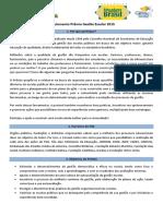 Regulamento Prêmio Gestão Escolar