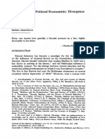 Schweber Darwin and the Political Economists