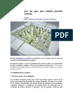 10 Razones Por Las Que Una Ciudad Necesita Planificación Urbana (1)