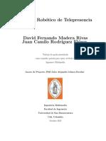 Sistema Robótico de Telepresencia