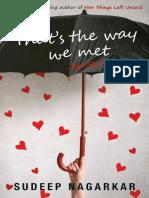 That's the Way We Met_ _.Kya Li - Nagarkar, Sudeep_ebook4in.blogspot.com