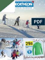 Catalogue Iarna Decathlon