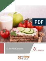 Living Well Guia de Nutrición in BALANCE