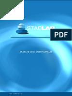 Stablab 2013 Manual ENG