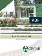 Didactica General-didactica General
