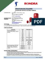 Instructiuni Utilizare Rondra-Vas de Expansiune Pt Sisteme Termice