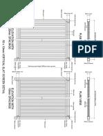 50by10 Vertical Slat Screen Detail