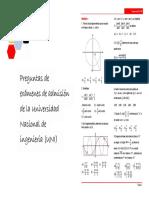 Preguntas de Trigonometria UNI (2005-2015)
