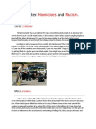 arrest related homicides and racism 2 0