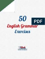 7. 50 English Grammar Exercises DEMO