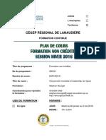 Plan de Cours Citoyenneté Mondiale Et Leadership