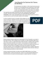 En Colombia. Para Una Biografía De Dulcinea Del Toboso. Cecilia Hernández De Mendoza.