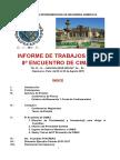 Cimas 8º Fascreaa 4º Informe de Trabajos