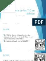 Historia de Las TIC en México