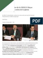 Mas y el exdirector de la UNESCO Mayor Zaragoza firman contra de la iglesia _ La Gaceta.pdf