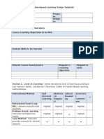 pbl design template