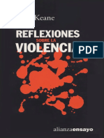 Keane, John - Reflexiones Sobre La Violencia