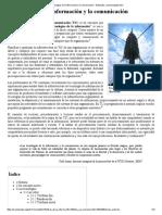 Tecnologías de la información y la comunicación - Wikipedia, la enciclopedia libre.pdf