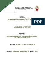 Herramientas Para El Aprendizaje Autónomo y La Actualización en TIC_Fernando Gómez Zárate