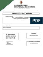 progetto preliminare 2 opere mitigazione