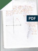 Segundo ejercicio de parabola