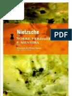 NIETZSCHE, Friedrich - Sobre Verdade e Mentira No Sentido Extramoral