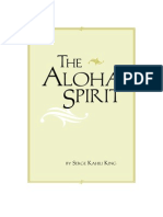 Aloha Spirit - Serge Sahili King