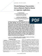 Analysis of Partial Discharge Characteristics of Natural Esters as Dielectric Fluid for Electric Power Apparatus Application