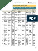 Plano de Formação 2015-2016 Revisto e Aprovado