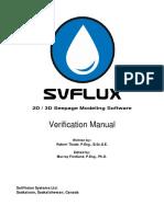 SVFlux Verification Manual