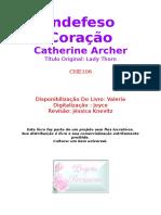Catherine Archer - Indefeso Coraçao