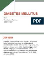 Makalah Farmasi Diabetes Presentasi