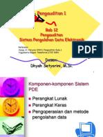 12. Pengauditan Sistem Pengolahan Data Elektronik(1)