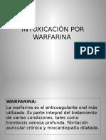 Intoxicación Por Warfarina