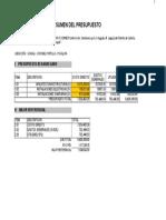 Presupuesto KENNEDY