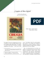 Del Papiro Al Libro Digital