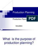PM 02- Production Planning System
