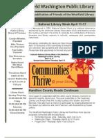 WWPL April 2010 Newsletter