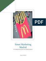 Street Marketing Madrid - Tu publicidad llena de creatividad