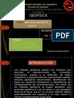 Diapos Finales de Geofisica.metodos Aereos.