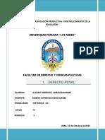 PRINCIPIOS DEL DERECHO PENAL