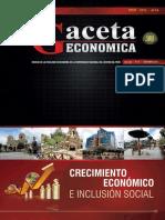 Revista Gaceta Económica N° 20, Año XII, Diciembre 2013- Huancayo - Perú