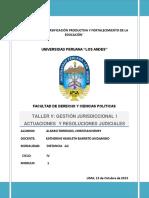 FUNCIONES DE LA  MOTIVACION DE LAS RESOLUCIONES JUDICIALES